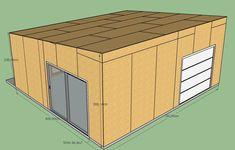 fabrication d'un double garage ossature bois - Page 4 - Forum copain des copeaux Double Garage, Plan Garage, Built In Storage, Building, Outdoor Decor, Inspiration, Wood Construction, Double Carport, Biblical Inspiration