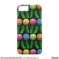 Horinzontal Pickles & Pickleballs Case-Mate iPhone Case