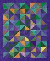 Image result for amish roman stripe quilt pattern