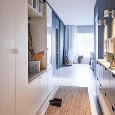 An organised hallway to come home to - IKEA