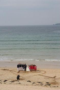 Wedding in Cornwall - harlynbay.com