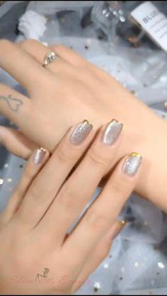 Cat Nail Designs, Nail Art Designs Videos, Nail Design Video, Nail Art Videos, Cute Toe Nails, Pretty Nails, Cute Toes, Elegant Nails, Stylish Nails