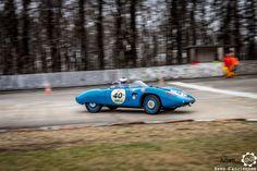 Barquette #DB #Panhard aux #CoupesdePrintemps à Montlhéry Reportage complet : http://newsdanciennes.com/2016/04/03/grand-format-coupes-de-printemps-2016/ #Voitures #Anciennes #VintageCar #ClassicCar