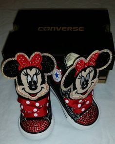 c4759ec04be7dd Girls Custom Converse- Kids Converse- Bling Converse- Minnie Mouse Converse-  Paw Patrol- Emoji- Doc Mcstuffins- Birthday Sneakers- Shoes