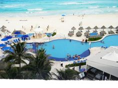 Golden Parnassus Resort & Spa, Cancun - I love this hotel. Only about 214 rooms so the staff gets to know you quickly. It's like going home to family each year. Best beach along the strip, great food and the service is amazing.