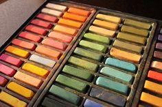 Pastel Chalks /I have pastels & earth tones, love them all EL./