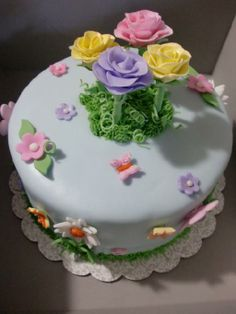 "spring cakes   Spring cake"""