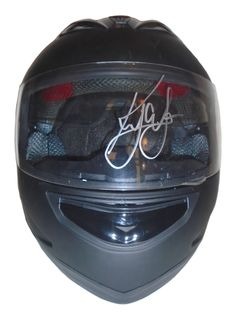 Kyle Larson autographed full size helmet w/ proof photo.  Proof photo of Kyle signing will be included with your purchase along with a COA issued from Southwestconnection-Memorabilia, guaranteeing the item to pass authentication services from PSA/DNA or JSA.  Free USPS shipping. http://www.autographedwithproof.com/ is your one stop for autographed collectibles from the biggest stars of nascar and motorsports. Check back with us often, as we are always obtaining new items.