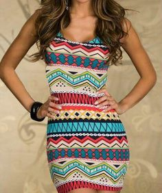 Love this tribal pattern