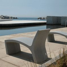 Public seating is not always not interesting and boring, the Spanish company Escofet prove that their collection of public seating are designed away from dull yet dazzling.