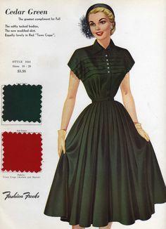 Fashion Frocks Salesman Sample 1953...maybe if I put a tiny little rubber band around my waist....hmmmmm