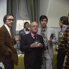 Writer Truman Capote and guests at a housewarming party for critic Rex Reed in The Dakota on April 30, 1972.  Photo: Sal Traina