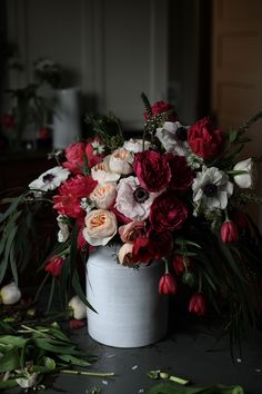 a daily something: Florals   Spring Blooms for Anthropologie