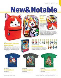 #YokaiWatch New & Notable Products #LicensingExpo #RetailMerchandiser