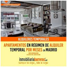 Alquileres por meses de apartamentos turísticos y de temporada. : Apartamentos en alquiler temporal Madrid capital E...