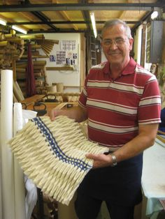 Yesterday I took a trip to Potters Bar, Enfield to visit Ciment Pleaters. I had used this company a long time ago to pleat some rubber for me and to my regret I have never had the time to visit the…
