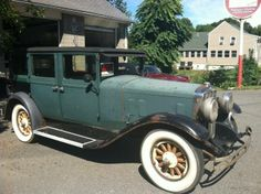 1929 Franklin 135 Sedan for sale Vintage Cars, Antique Cars, Veteran Car, Farmall Tractors, Automotive Engineering, Automobile Industry, Old Trucks, Fast Cars, Old Cars
