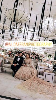 Pakistani Wedding Outfits, Wedding Dresses, Wedding Stage Decorations, Aiman Khan, Pakistani Couture, Desi, Wedding Planner, Celebrity Style, Indian