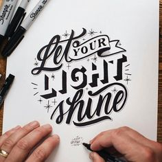 Let your light shine bright! Artwork by @kuyageorge #HandWriting #InsperationalQuote #Quote #MotivationalQuotes #Typography #PositiveQuotes #Artist #Art #LifeQuotes #Lifehacks #DailyArtWork #DailyArt #TypograpghyArt #TypographyInspired #Lettering #CalligraphyType #Calligraphyainspired #Calligritype #Calligraphy #50words #typegang #HandMadeType #typetopia #typedaily #typografi #typism #artoftype #DifferenType