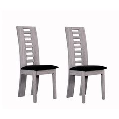 Image Chaise revªtement feutrine lot de 2 Joan La Redoute