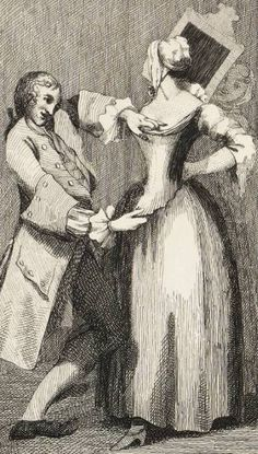 After spending months hand-sewing my stays (and unpicking and restitching them), I've been wondering. During the century where i. 18th Century Stays, 19th Century, 18th Century Fashion, Fashion History, Newport, Outlander, Silhouette, Textile Industry