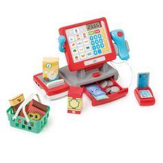 Caisse enregistreuse tactile Imagibul création Oxybul pour enfant de 3 ans à 8 ans - Oxybul éveil et jeux Play Food, Toys For Girls, Arcade Games, Nintendo Consoles, Creations, Birthday, Client, Courses, Imagination