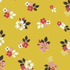 Designs by Dani - Vintage Daydream - Floral in Gold