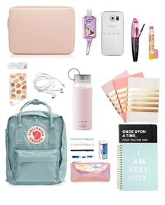 """""""Whats in my Kanken Pt. 1"""" by iconicalist on Polyvore featuring art"""