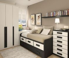 Nice 60 Adorable Teenage Boys Bedroom Designs Ideas. More at http://trendecor.co/2017/10/03/60-adorable-teenage-boys-bedroom-designs-ideas/