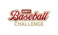 Logo designed for our Major League Baseball mini game. I created this as a full time employee of ESPN. Espn Baseball, Marlins Baseball, Cleveland Indians Baseball, Baseball Helmet, Baseball Uniforms, Baseball Socks, Baseball Games, Baseball Jerseys, Tnt Basketball