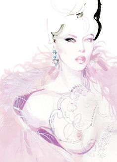 David Downton — Candy Magazine - 'Couture's First Ladies'