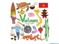 As we near the end of the alphabet, 'V' is for Vietnam! Help your child study… Geography For Kids, Teaching Geography, World Geography, Arno Stern, Vietnam Country, Colegio Ideas, Countries And Flags, India Culture, Russia Culture