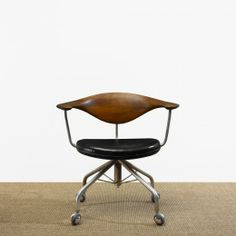 Swivel Chair By Hans Wenger · Scandinavian FurnitureScandinavian DesignDesk  ...