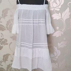 #abito #mini #dress #spalle #scoperte #bianco #valeria #abbigliamento