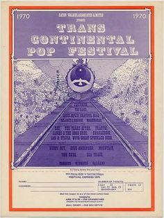The Festival Express, the film documentary, 1970.