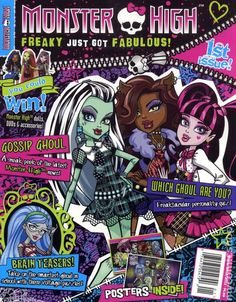 Monster High Magazine (2012) 1