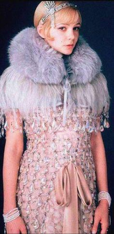 Carey Mullligan as Daisy in Baz Luhrmann's  'The Great Gatsby' (2013). Costume Designer: Catherine Martin.