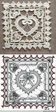 Transcendent Crochet a Solid Granny Square Ideas. Inconceivable Crochet a Solid Granny Square Ideas. Crochet Diy, Filet Crochet, Crochet Diagram, Crochet Chart, Thread Crochet, Crochet Doilies, Crochet Flowers, Irish Crochet, Crochet Mandala