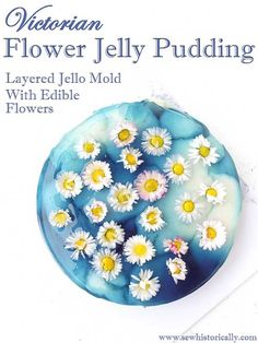 Victorian Flower Jelly Pudding – Layered Jello Mold