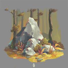 ArtStation - Rocks Needed, Jimmy Malachier: