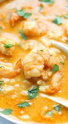 Easy Thai Shrimp Soup