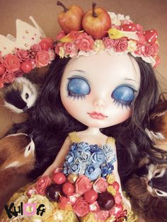 No11 Snow White custom ✿⊱╮b l y t h e ❤