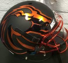 Image result for boise state football helmets