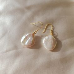 Real Pearl Earrings, Small Gold Hoop Earrings, Pearl Earrings Wedding, Hippie Jewelry, Pearl Jewelry, Skull Jewelry, Jewlery, Wedding Jewelry, Baroque Pearls
