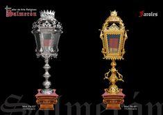 farol de metal, orfebreria baño de plata y oro, repujado, Altar, Fountain, Hammered Gold, Silver Bathroom, Sacred Art, Sailing Ships, Lanterns, Mugs, Accessories