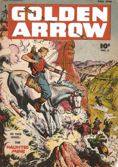 Image result for comic golden arrow