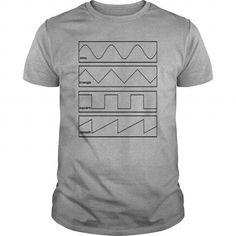I Love Sine Triangle Square Sawtooth tee T-Shirts