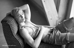 Joseph Gray by Mirko Fuhrherr for Male Model Scene