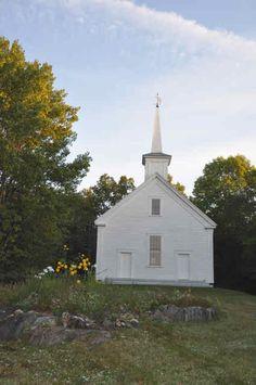 The old South Cushing Baptist Church - Cushing Maine Historical Society