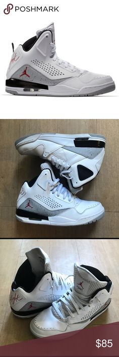 4ef696d94b94d0 Jordan SC-3 White and Grey - Excellent Condition These retro rare Jordan s  were barely